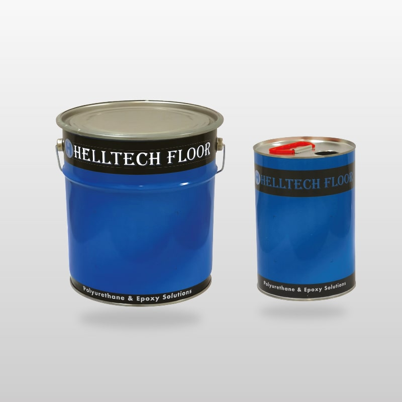 HELLTECH FLOOR EPOXY SEALER 5005-Çok Amaçlı Şeffaf Epoksi Kaplama Bileşeni
