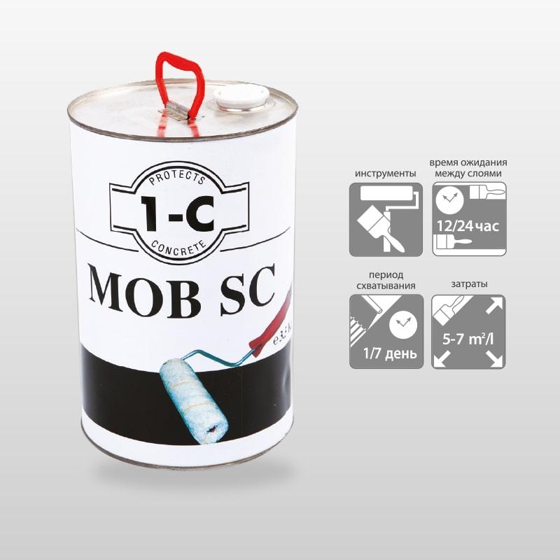 MOB-SC Однокомпонентная Полиуретановая Пропитка Грунтовка Для Бетонных Полов