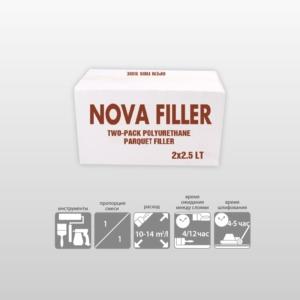NOVA FILLER-2 компонентный полиуретановый грунт